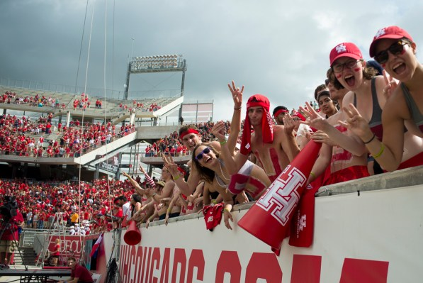 A near-sellout of more than 39,000 filled the seats of TDECU Stadium on Saturday morning. | Justin Cross/The Cougar