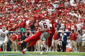 The Cougar defense stifled the Sooners all afternoon en route to a 33-23 upset to open the season. | Justin Tijerina/The Cougar