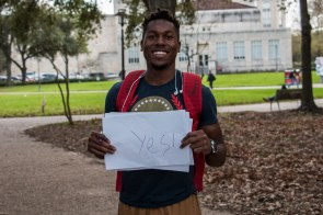 """Yeah, I do agree with it. If it takes out a lot of extra money from financial aid and more people realize that college isn't a necessity for success, then yeah, they can probably do without school if it's just something they can't afford,"" said entrepreneurship freshman Calvin Laskey. 