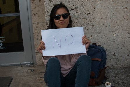 """""""No because not everyone can afford to pay for college because it's hard and college has become such a necessity. Nowadays you just can't get very far without a college degree because things have become so competitive and no one should be put in that type of situation because of what the government decided for them,"""" said CIS junior Holly Gozum. 