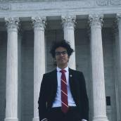 Gabriel Aguilar is the Communications Director of the University of Houston College Democrats | Courtesy of Gabriel Aguilar