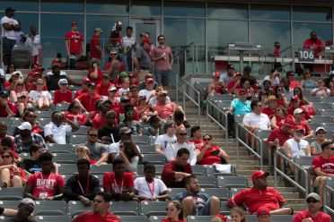 Hundreds of fans turned out to catch a glimpse at what they can expect for the next season. | Ajani Stewart/The Cougar