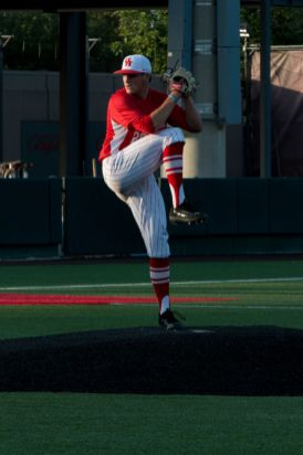 After freshman pitcher Carter Henry allowed seven runs on six hits in the first inning, he was replaced by freshman Brayson Hurdsman. In total, the Cougars went through five pitchers. | Ajani Stewart/The Cougar