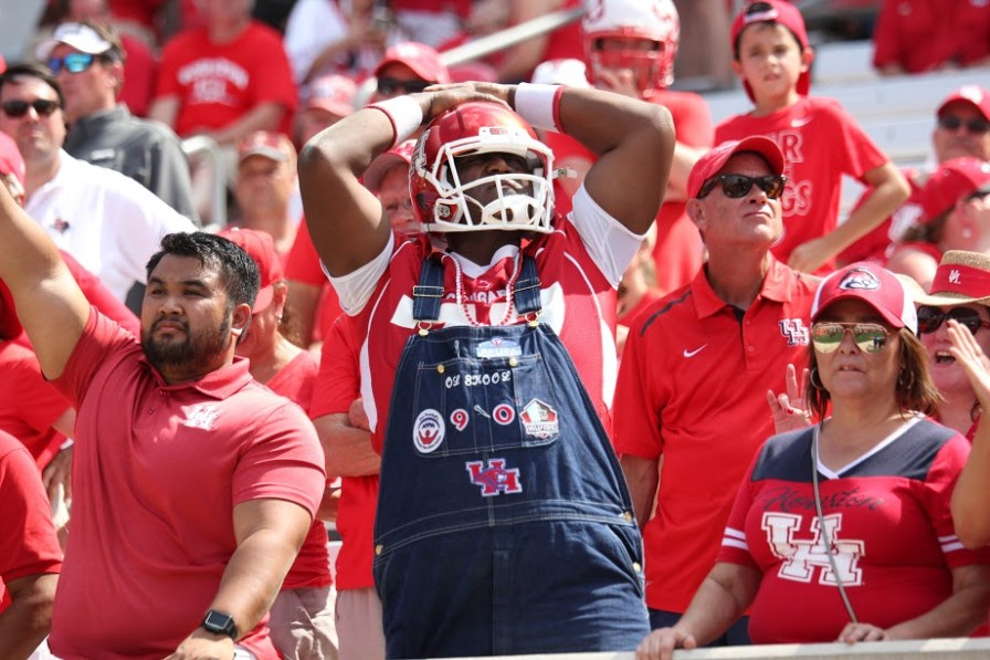 The 27-24 loss to Texas Tech snaps Houston's nation-leading streak of 16 consecutive wins at home. Houston will look to begin a new streak when they return to TDECU Stadium on Oct. 8 against SMU.   Thomas Dwyer/The Cougar
