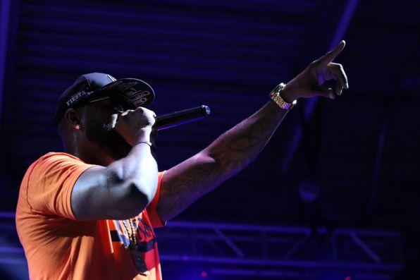 "Slim Thug took over where Mike Jones left off with tracks like ""Thug"" and ""I Run."" | Kathryn Lenihan/The Cougar"