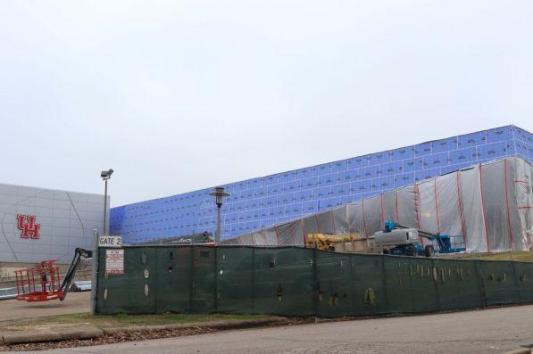 Fertitta Center | Budget: $60 million | Ground breaking: 3/05/17 | Completion: 12/01/18. | Thomas Dwyer/The Cougar