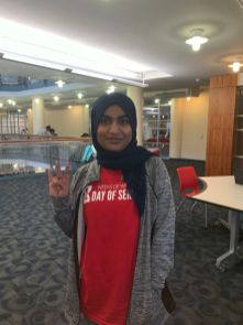 """""""I felt (Students Unite) was really clear with their objectives and what they were trying to achieve,"""" said biology freshman Maliha Mir. 