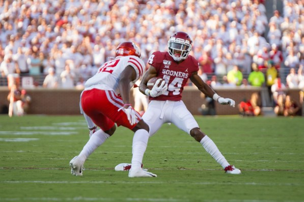 Oklahoma's offense tallied 686 total yards against Houston. | Trevor Nolley/The Cougara