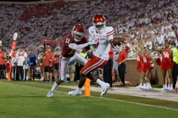 Houston's offense ran eight more plays than Oklahoma. | Trevor Nolley/The Cougar