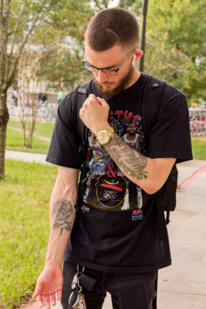 """I like to see tattoos becoming more normalized and just becoming more accepted,"" said psychology junior Jason Hankins. ""I work in the hospital and still get side-eyes, looks and comments from some people, but for the most part people are more accepting and it's pretty cool."" 