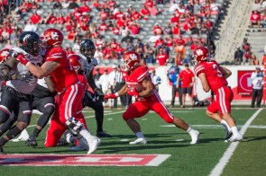 The Cougars rushed for almost 200 yards against the Bearcats. | Trevor Nolley/The Cougar