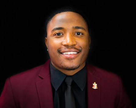 Jalen Lewis: senior, human resource development major, sponsored by Kappa Alpha Psi | Courtesy of the Homecoming Board