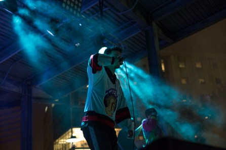 Yung Turk opens the concert. | Trevor Nolley, The Cougar