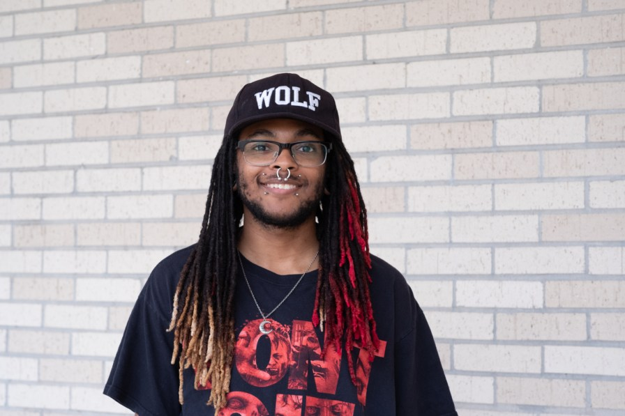"""You can't really avoid feeling stressed out, but the best way to manage it is stay on top of your work and get ahead of it,"" said English literature senior Jamal Moore."