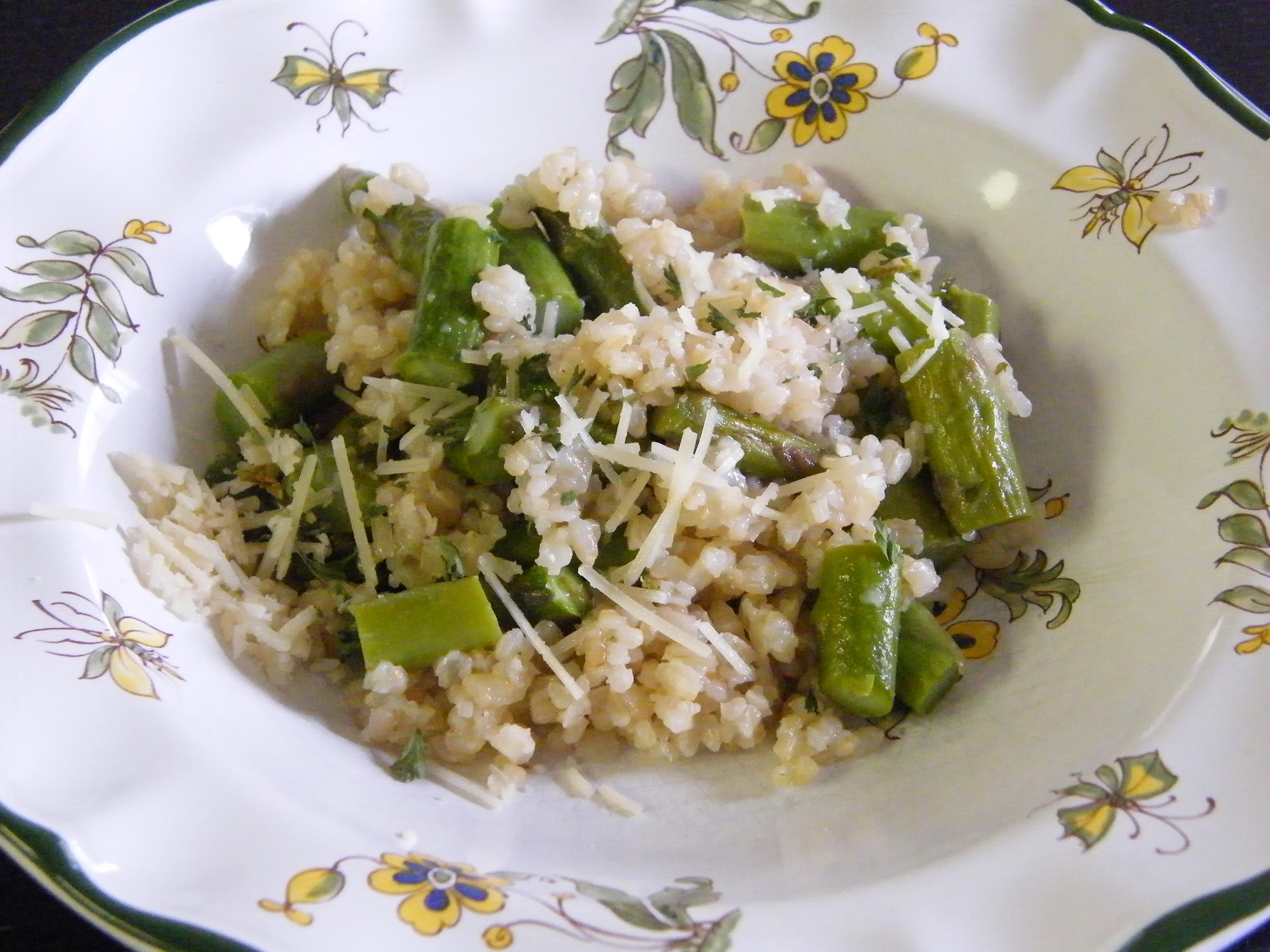 asparagasrisotto