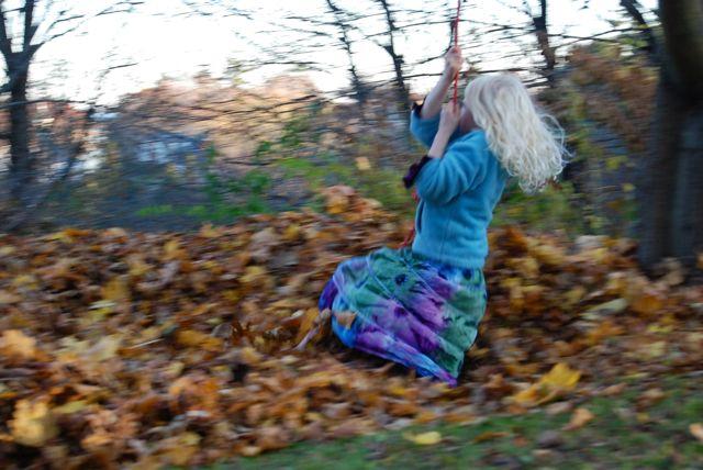 leaf jumping