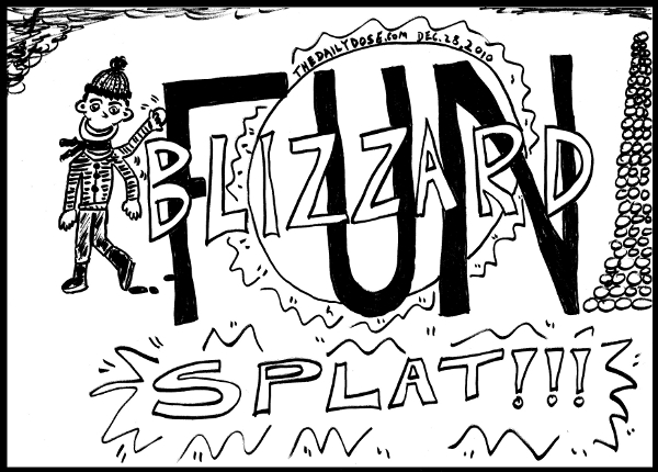 Blizzard  Fun Splat! from TheDailyDose.com