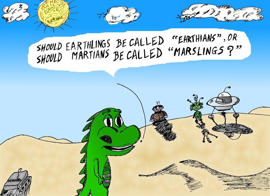 Earthians Or Marslings