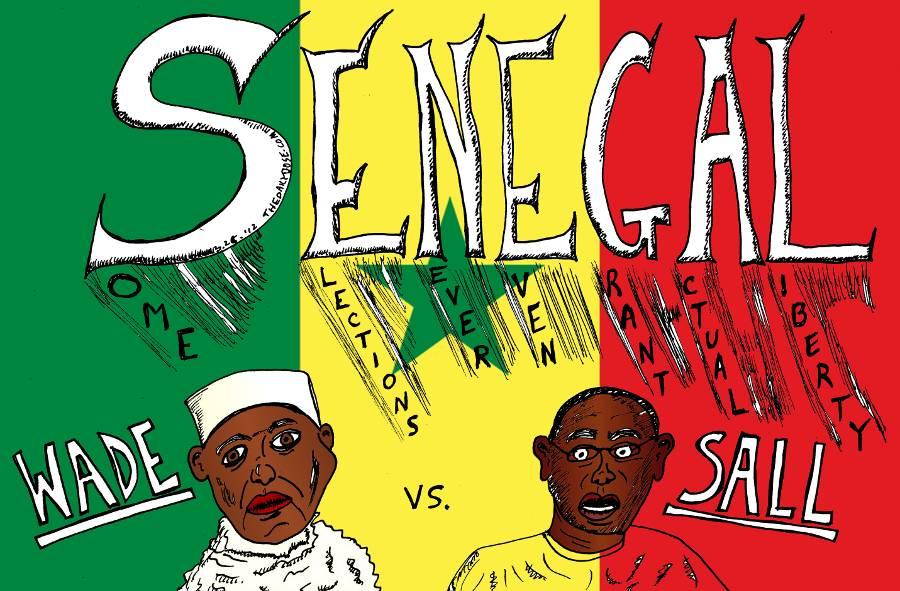 Senegal Elections Wade Vs Sall