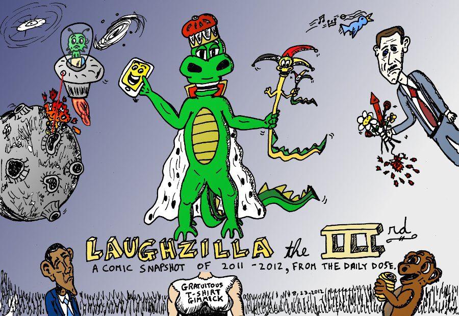 Laughzilla The Third Editorial Comic Book