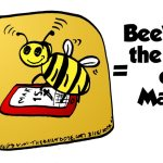 Bee Ware the Ides of March cartoon by laughzilla for the daily dose 3/15/2014