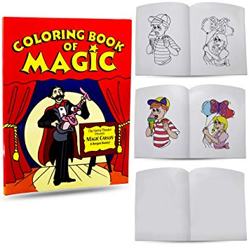 Magic Coloring Book Review Impossible Magic Made Easy