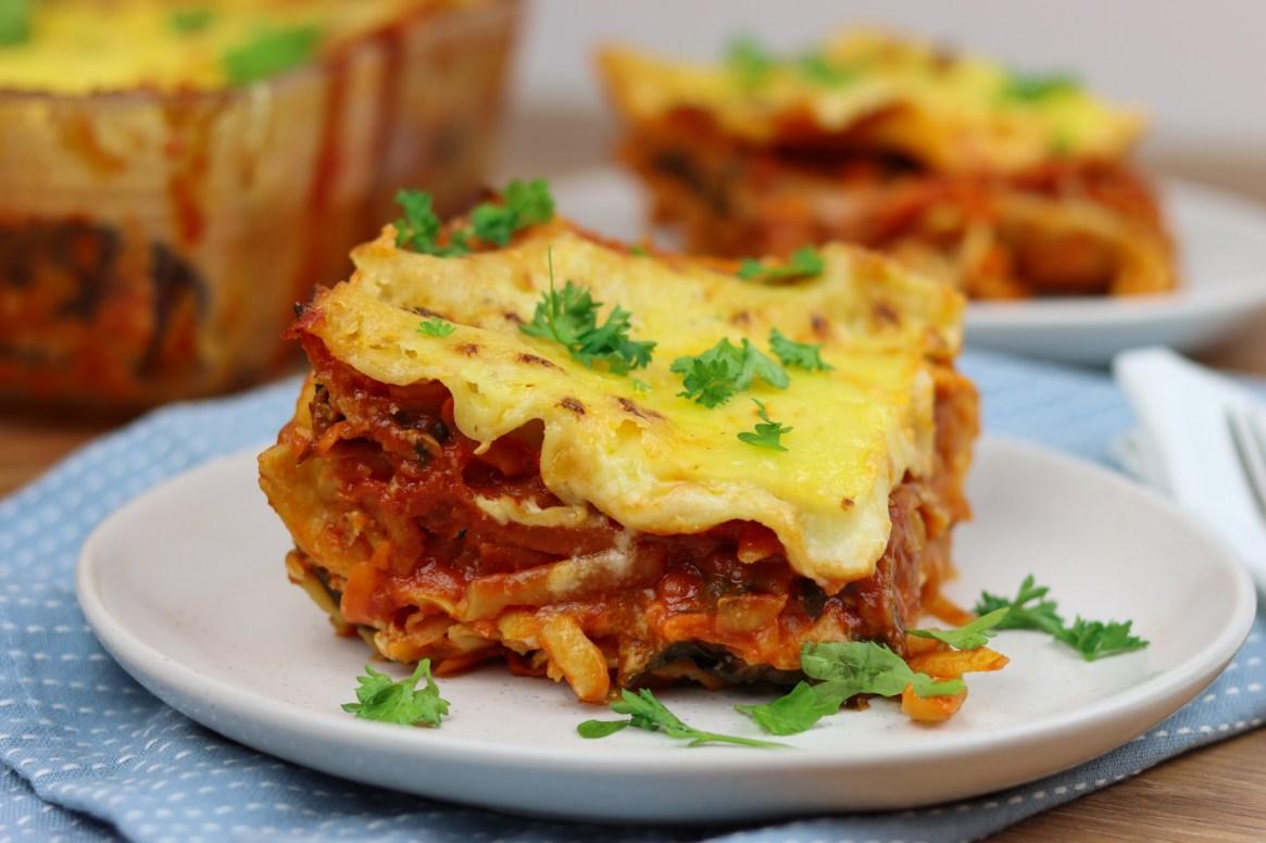 Chicken & Kumara Lasagne