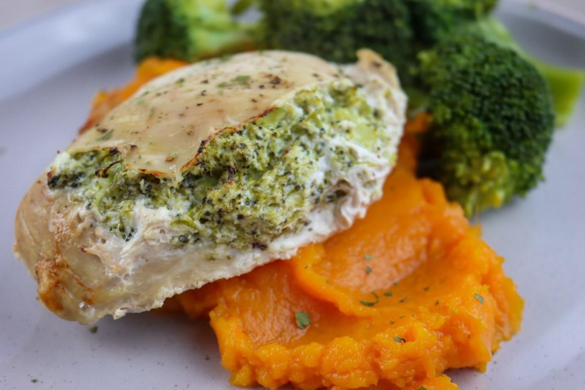 Broccoli Stuffed Chicken