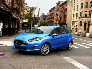 2017 Ford Fiesta Front