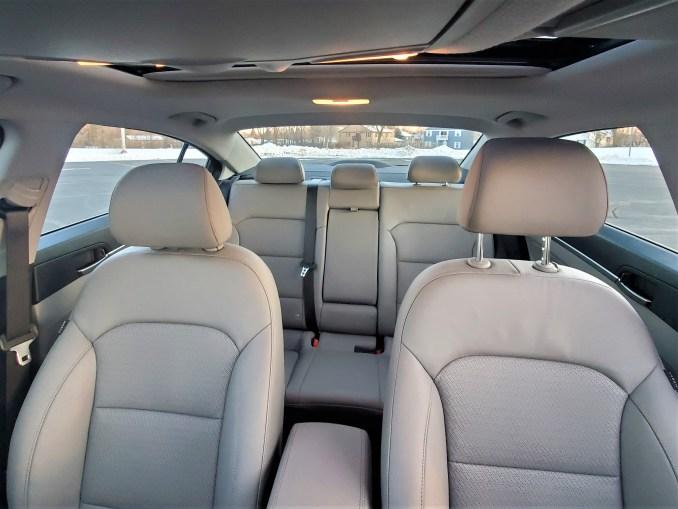 2020 Hyundai Elantra Interior Back