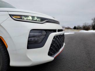 2020 Kia Soul GT-Line Turbo White Grille
