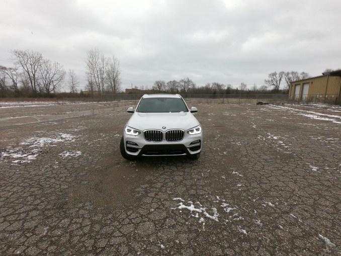 2019 BMW X3 xDrive30i White Front
