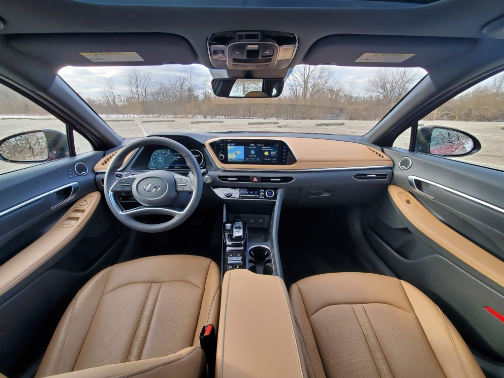 2020 Hyundai Sonata Interior Front
