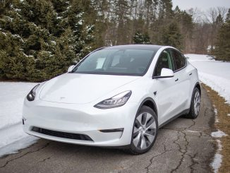 2021 Tesla Model Y Standard Range Winter