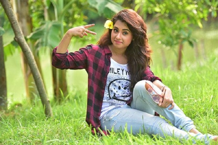 Bubli debut as a TVC model