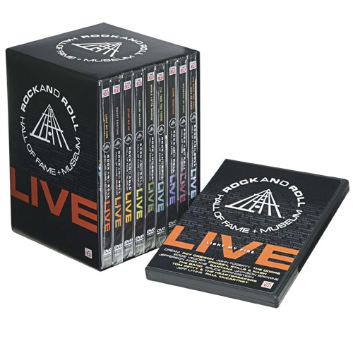 rock hall dvds