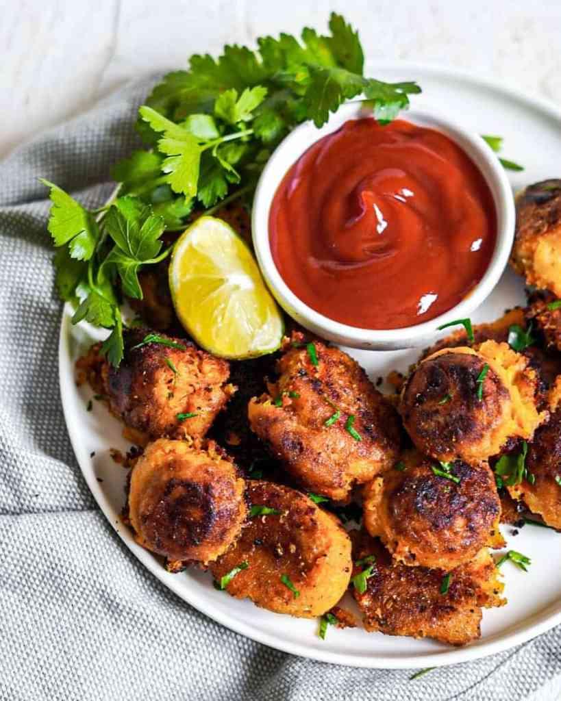 croquettes de patate douce