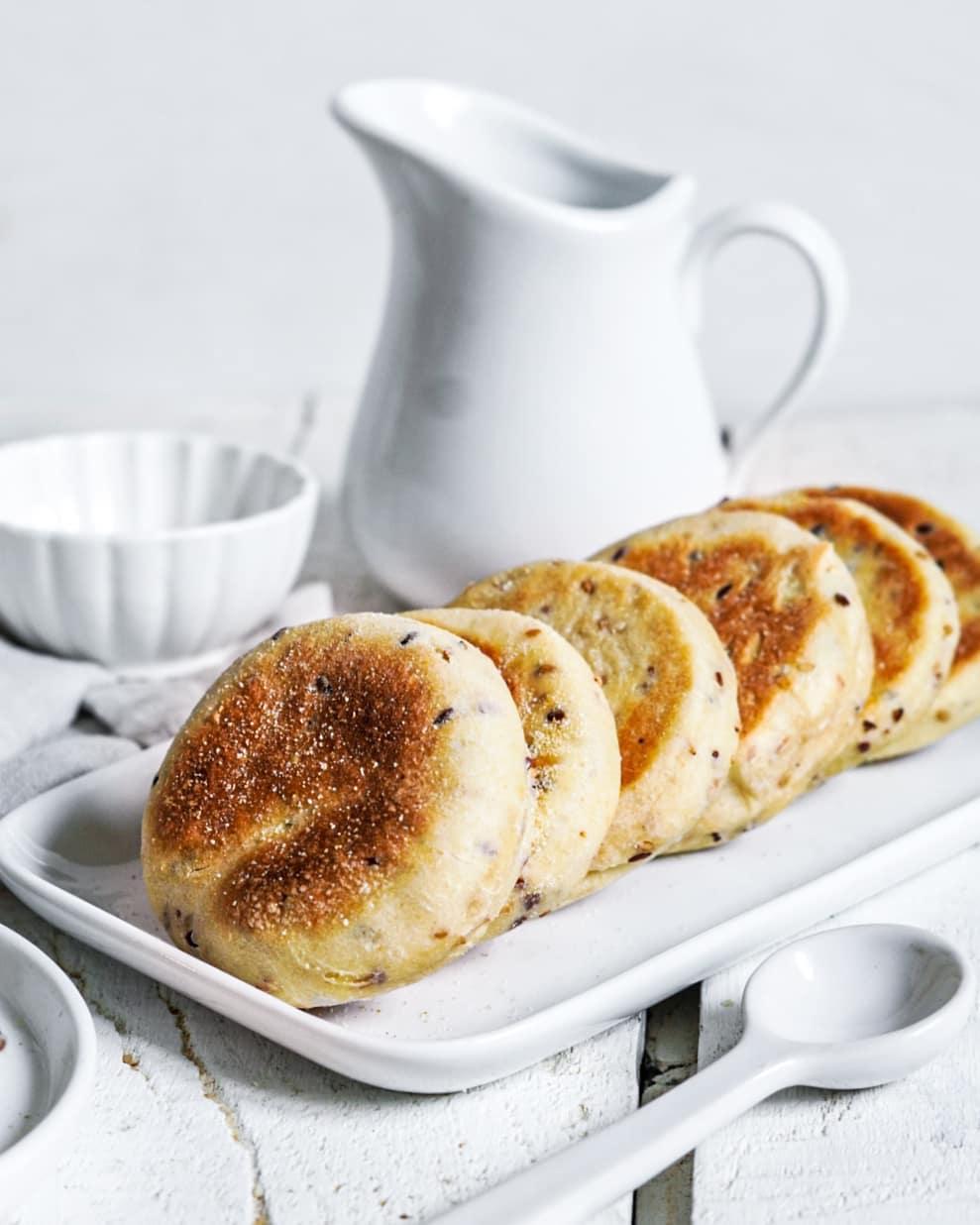 muffins anglais aux graines