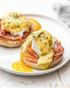 œufs pochés benedicte
