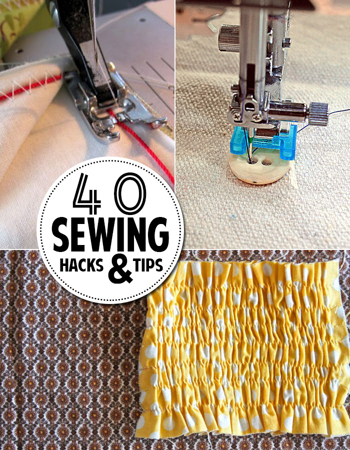 40 sewing hacks and tips to save SO MUCH TIME!
