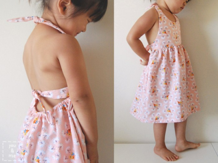 Fluttering Fields dress, You and Mie - thedailyseam.com