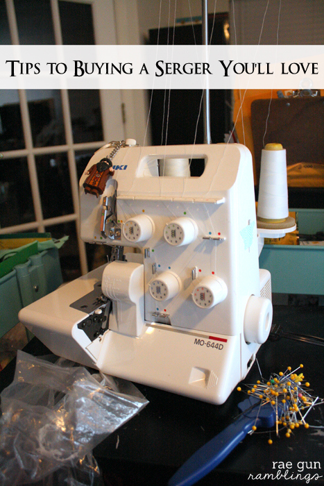 Serger buying tips