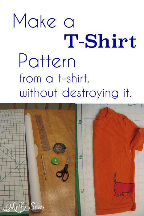 Make Sewing Patterns from Your Clothes - The Daily Seam
