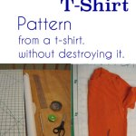 Make Sewing Patterns from Your Clothes