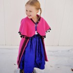 Easy Frozen Anna Cape Tutorial