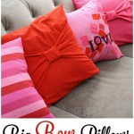 20 Minute Bow Pillow Case Tutorial