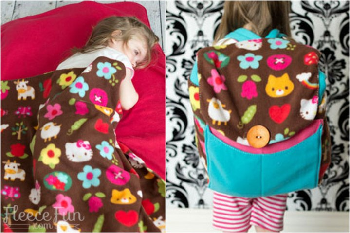 free backpack sleeping bag sewing pattern