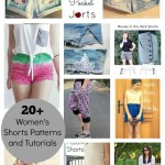 Womens Shorts Patterns and Tutorials