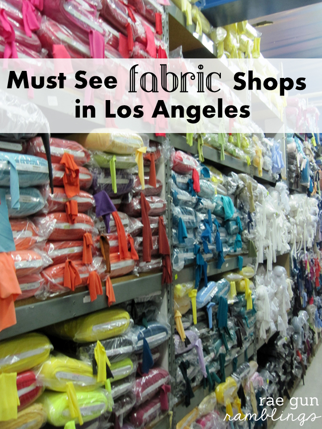 best places to buy fabric in LA, California