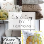 Cute & Cozy Pillows to Sew for Fall